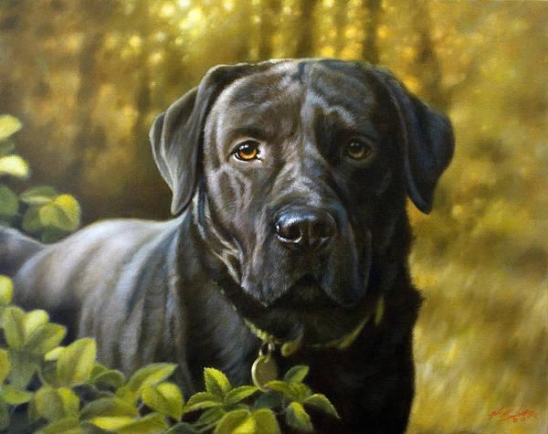 Painting - Faithful Friend by John Silver
