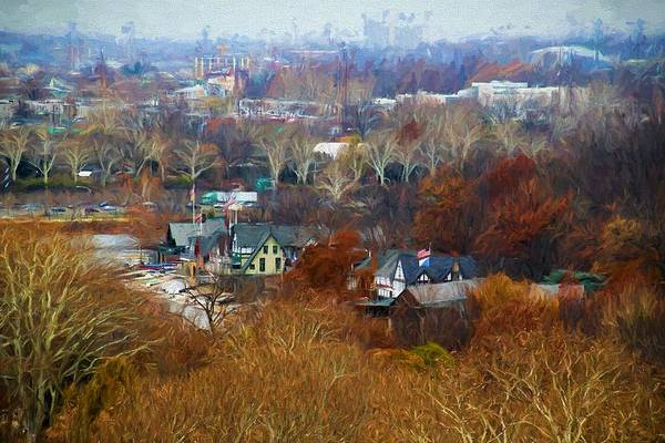 Photograph - Fall At Boathouse Row by Alice Gipson