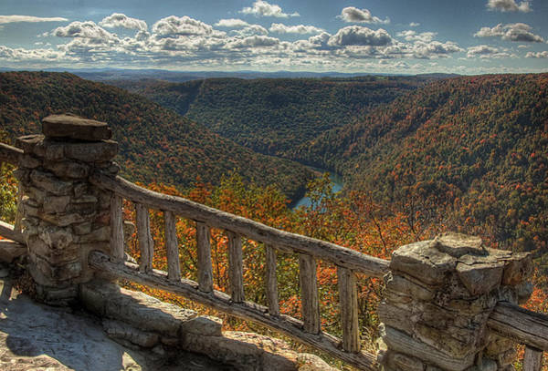 Photograph - Fall At Coopers Rock by Michael Kirk