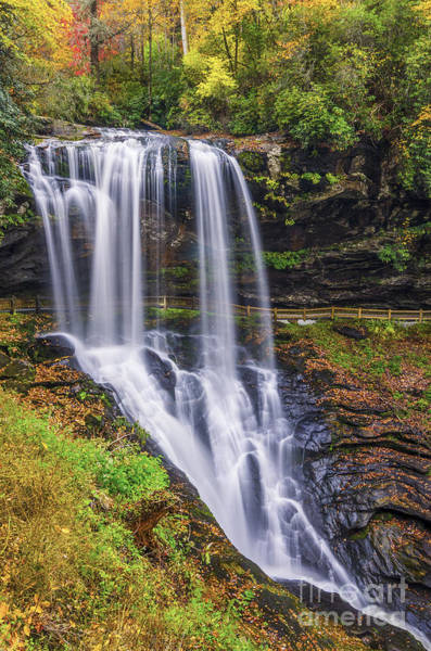 Wall Art - Photograph - Dry Falls In Autumn by Anthony Heflin