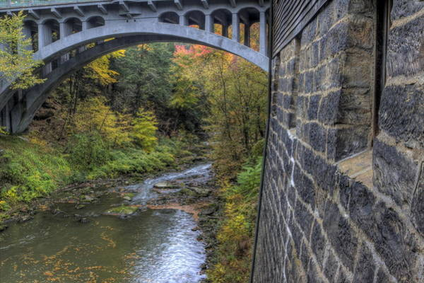 Photograph - Fall At Mill Creek Park by David Dufresne