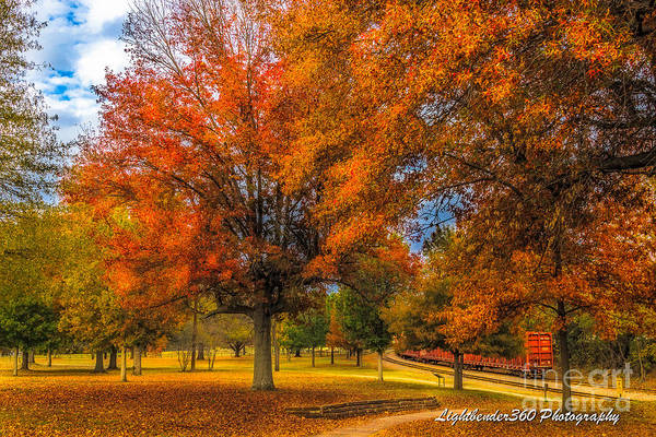 Fall At The Fort Art Print