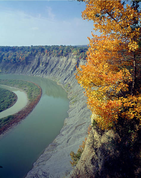 Photograph - Fall At The Genesee River Gorge by Ed  Cooper Photography