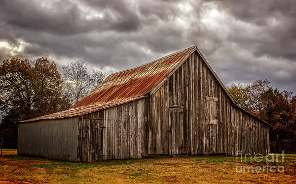 Photograph - Fall Barn by Larry McMahon