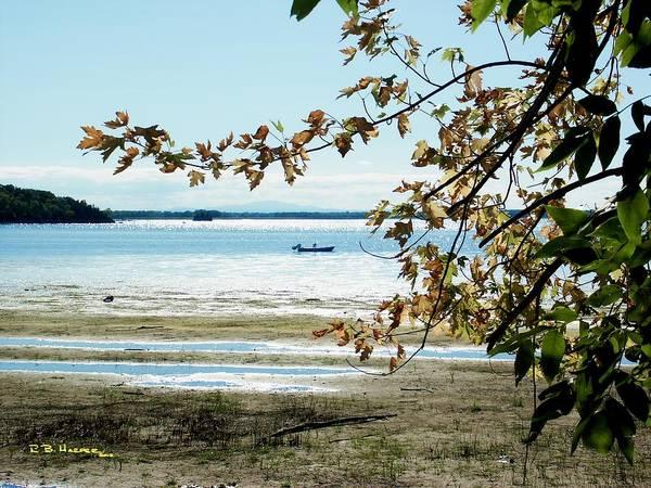 Photograph - Fall Beach - Missisquoi Bay  by R B Harper