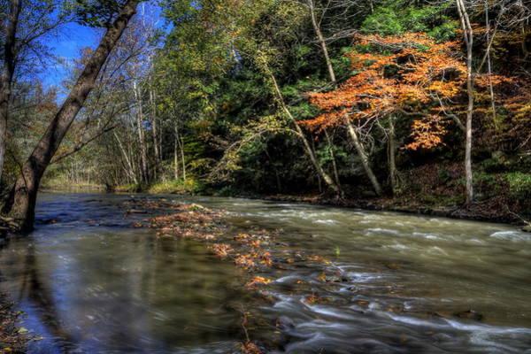 Photograph - Fall Beauty Scene by David Dufresne