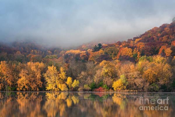 Photograph - Fall Colors At West Lake Winona by Kari Yearous