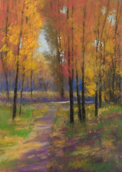 Wall Art - Painting - Fall Colors by Paula Ann Ford
