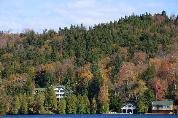 Photograph - Fall Colours On The Tranquil Lake by Brenda Kean