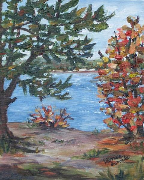 Painting - Fall Day On Beausoleil Island by Monica Ironside