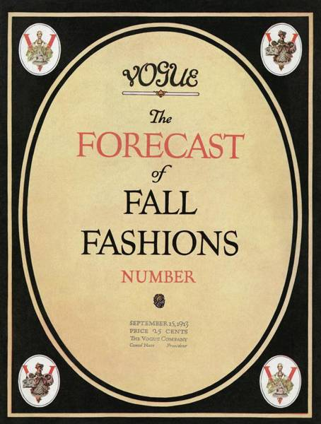 Autumn Photograph - Fall Fashions Forecast by  Unknown