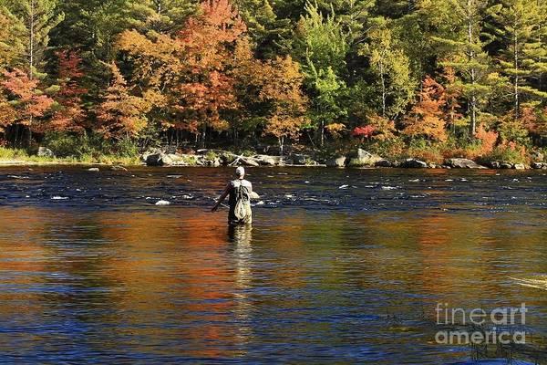 Photograph - Fall Fishing by Karin Pinkham