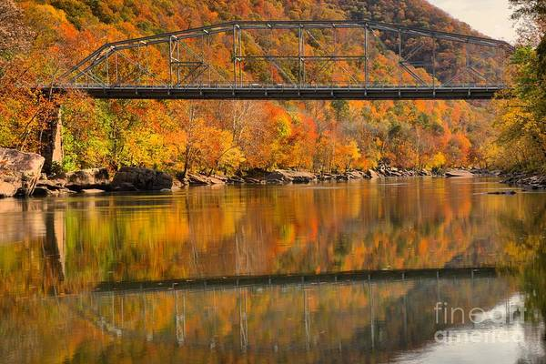 Photograph - Fall Foliage At Fayette Station by Adam Jewell