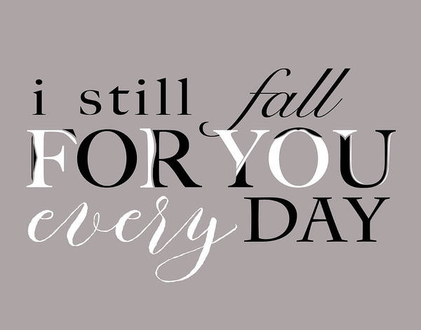 Wall Art - Painting - Fall For You by Longfellow Designs