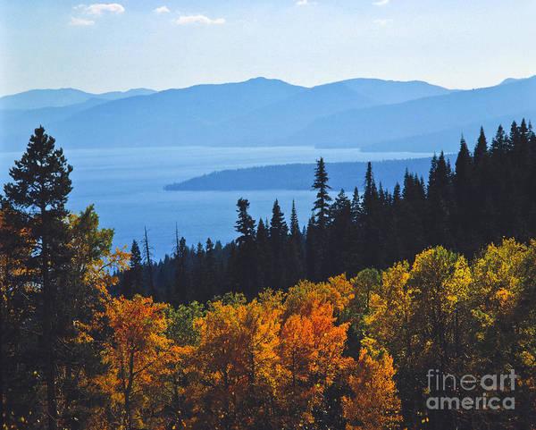 Wall Art - Photograph - Fall Haze Lake Tahoe by Vance Fox