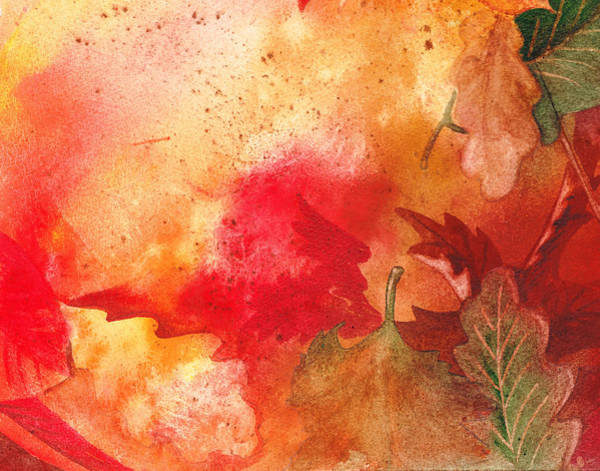 Painting - Fall Impressions by Irina Sztukowski