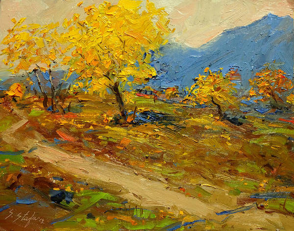 Painting - Fall In Albania by Sefedin Stafa