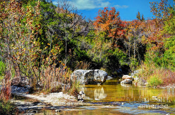 Lost River State Park Wall Art - Photograph - Fall In Central Texas by Savannah Gibbs