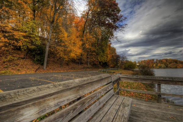 Photograph - Fall In Mill Creek Park by David Dufresne