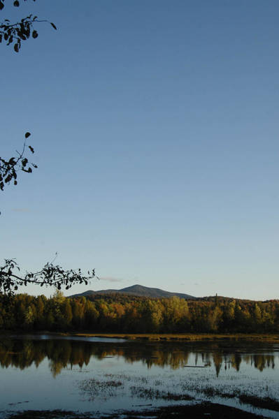 Montain Photograph - Fall In The Adirondacks by Tracy Winter
