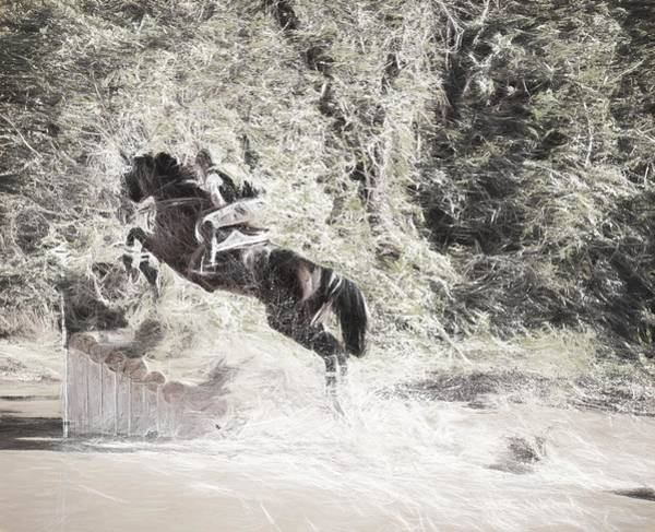 Photograph - Fall Jump by Alice Gipson