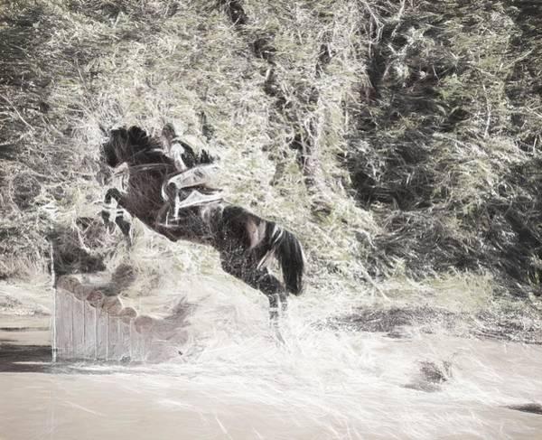 Fairhill Photograph - Fall Jump by Alice Gipson