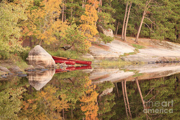 Bwcaw Photograph - Fall Landing by Radiant Spirit Gallery