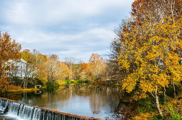 Photograph - Fall Landscape At Buck Creek by Parker Cunningham