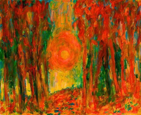 Painting - Fall Light by Kendall Kessler