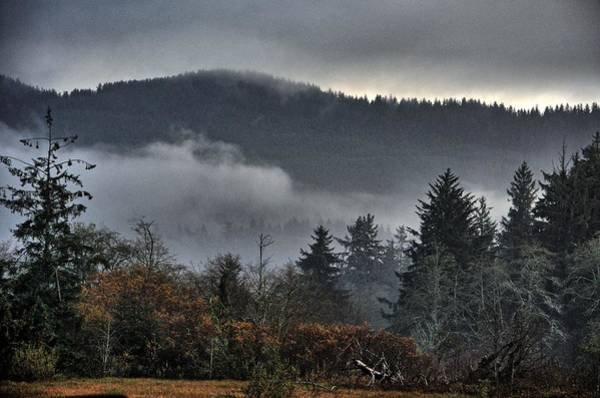 Photograph - Fall Low Clouds And Fog by Chriss Pagani