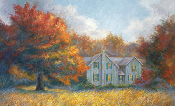 Painting - Fall by Lucie Bilodeau