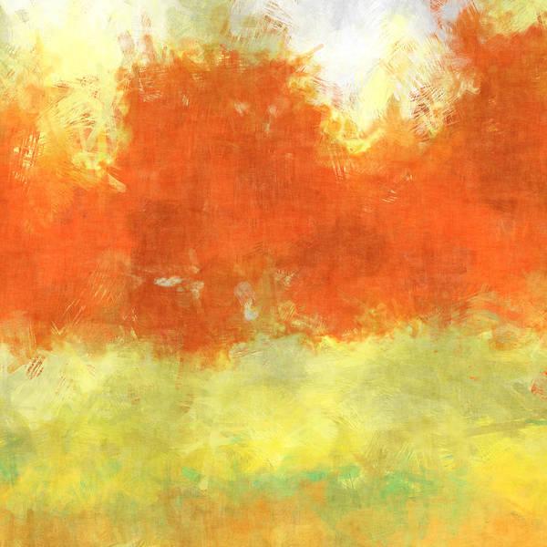 Wall Art - Digital Art - Fall Meadow by David G Paul