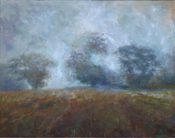 Painting - Fall Mist by Susan Moore