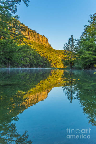 Wall Art - Photograph - Fall Morning At The Frio River by Andre Babiak
