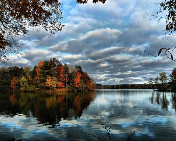 Brian Wilson Wall Art - Photograph - Fall Morning At The Lake by Brian Wilson