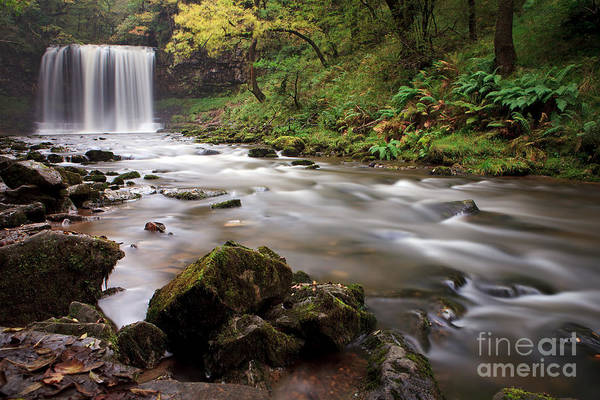 Wall Art - Photograph - Fall Of Snow - Wales. by Pete Reynolds