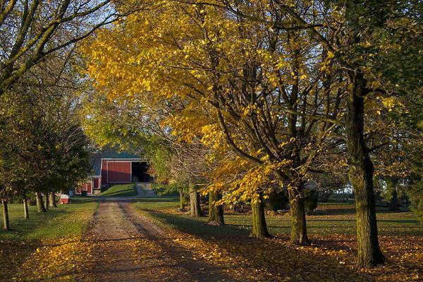Southern Ontario Photograph - Fall On The Farm by John-Paul Fillion