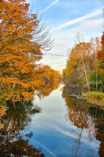 Fall On The Red Cedar  Art Print