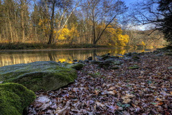 Photograph - Fall On The River by David Dufresne