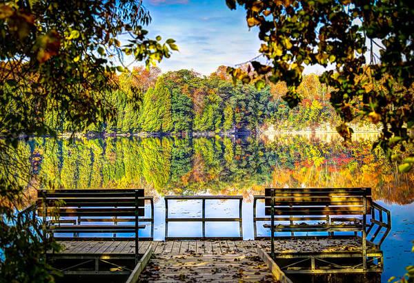 Wall Art - Photograph - Fall Reflections by Anna-Lee Cappaert