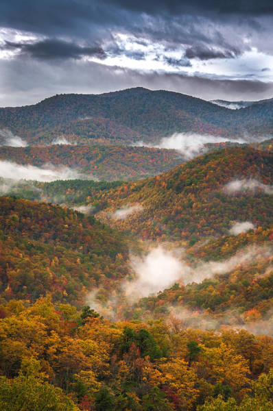 Fall Ridges Art Print