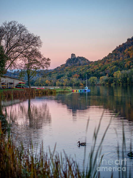 Photograph - Fall Sugarloaf With Duck by Kari Yearous