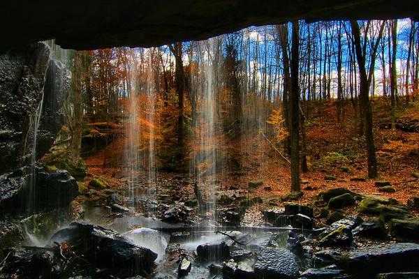 Brian Wilson Wall Art - Photograph - Fall Through The Falls by Brian Wilson