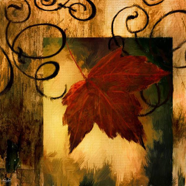 Traditional Home Digital Art - Fallen Leaf by Lourry Legarde
