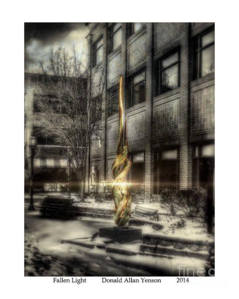 Mount Clemens Photograph - Fallen Light by Donald Yenson