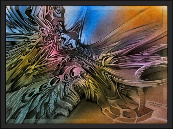 Pastel - Fallenangelscape1 '09 by Glenn Bautista