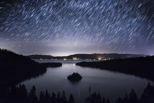 Emerald Bay Photograph - Falling Angels by Brad Scott