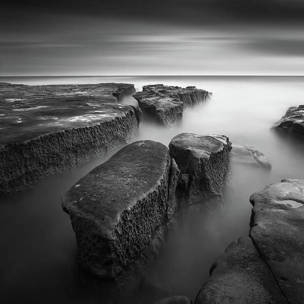 Calm Sea Photograph - Falling Apart by Yi Fan