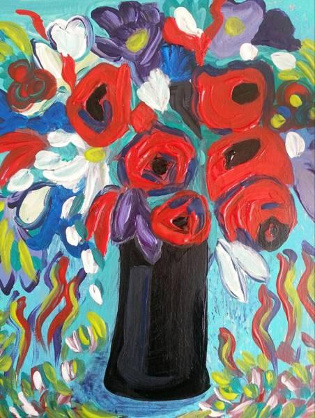 Painting - Falling Down by Nikki Dalton