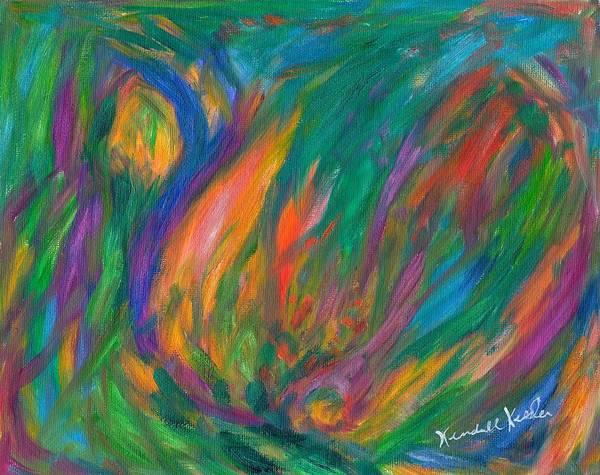 Painting - Falling by Kendall Kessler